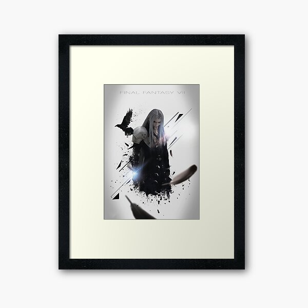 Final Fantasy VII - Sephiroth Framed Art Print