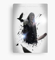 Final Fantasy VII - Sephiroth Metal Print