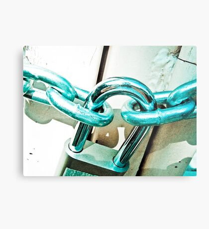 Fence me in: On Featured Work Metal Print