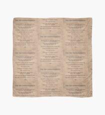The Ten Commandments Scarf