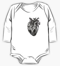 My Black Heart One Piece - Long Sleeve