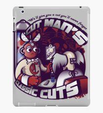 Cut Man's Classic Cuts iPad Case/Skin