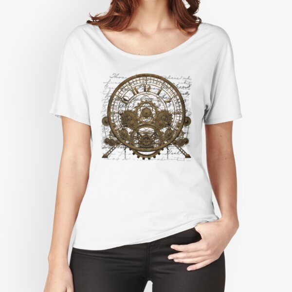 Vintage Steampunk Time Machine #1A Relaxed Fit T-Shirt