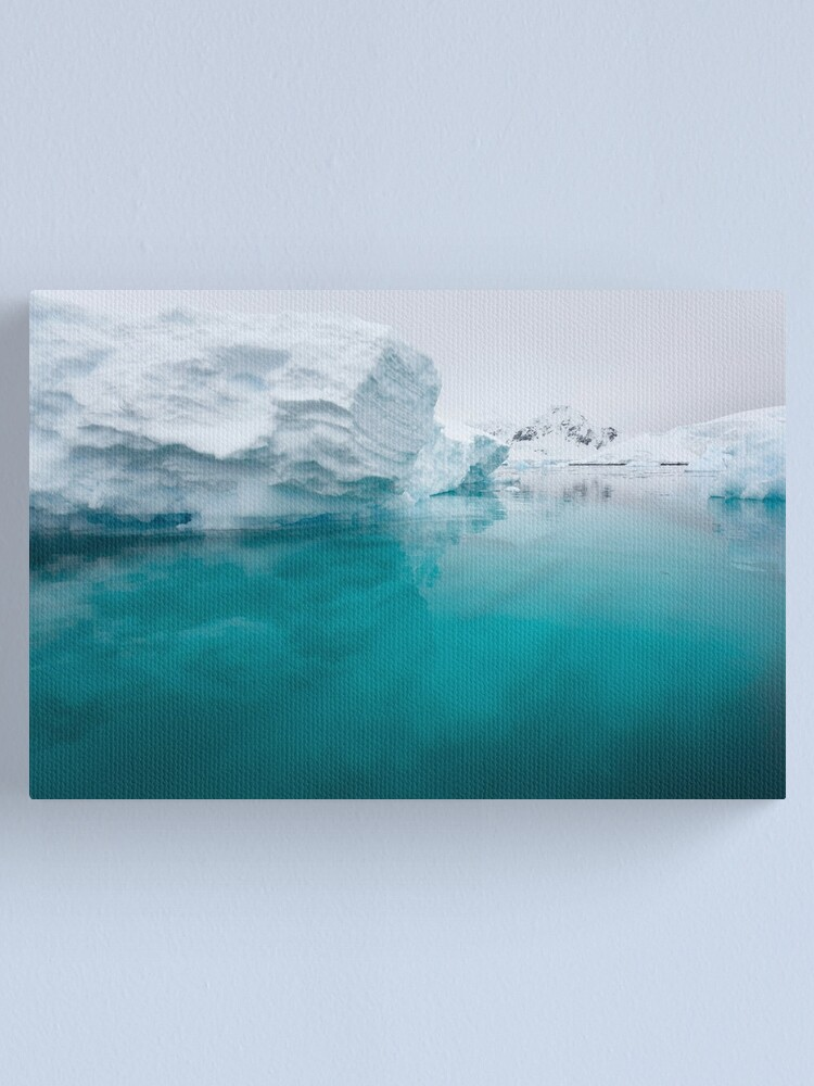 Alternate view of Below the surface Canvas Print