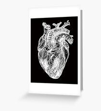 My White Heart Greeting Card