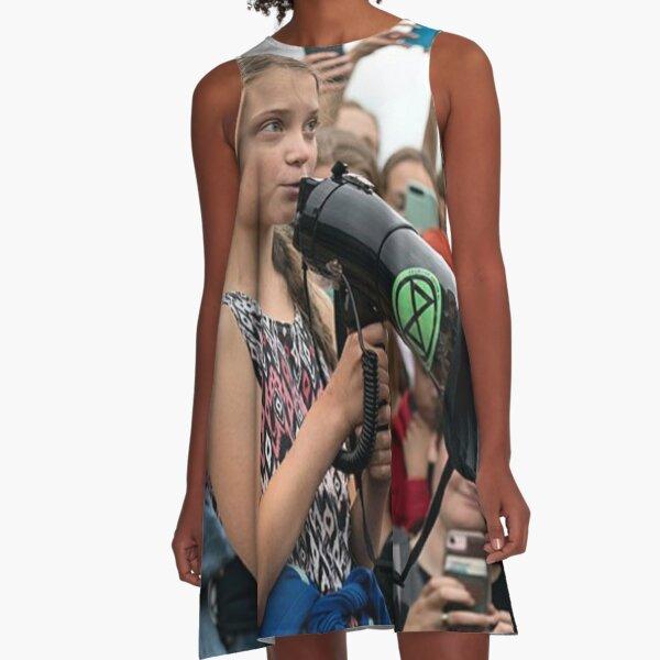 Greta Thunberg A-Line Dress
