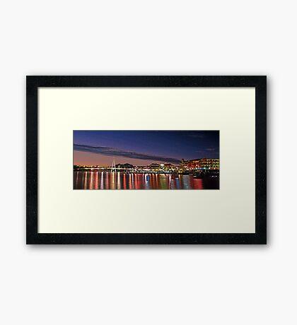Mandurah Ocean Marina - Western Australia  Framed Print