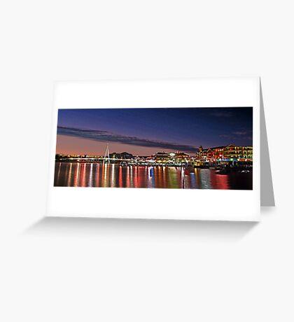 Mandurah Ocean Marina - Western Australia  Greeting Card