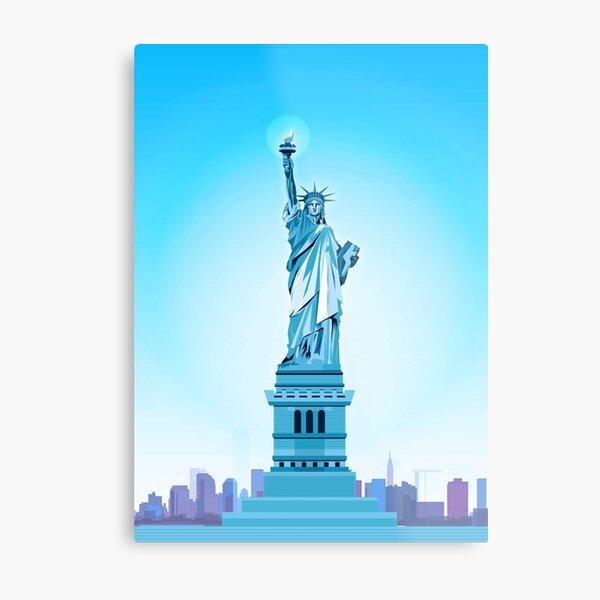 New york statue of liberty Metal Print