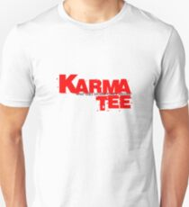 karma tee logo (black writting) Unisex T-Shirt