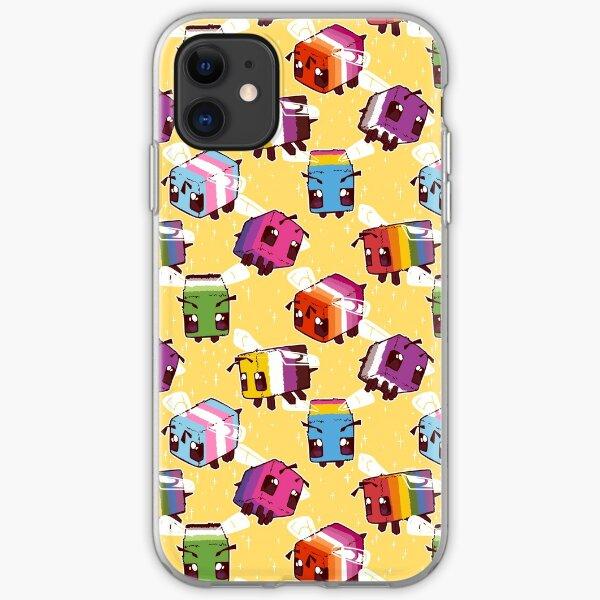 LGBT Minecraft Bees iPhone Soft Case
