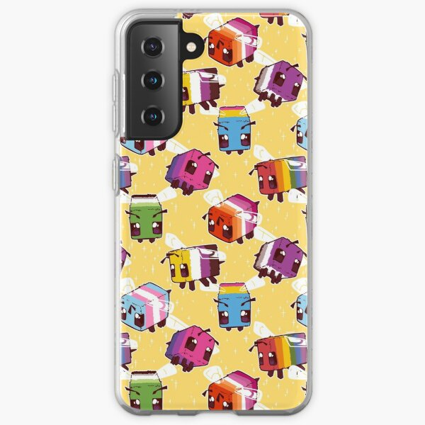 LGBT Minecraft Bees Samsung Galaxy Soft Case