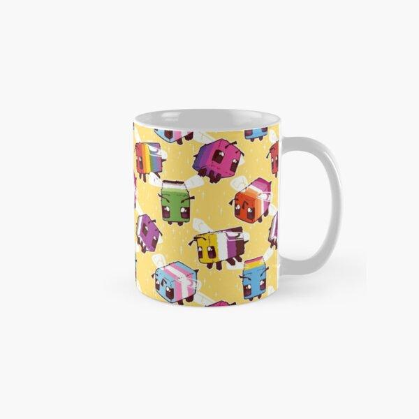 LGBT Minecraft Bees Classic Mug