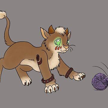 Druid Kitty 2 by Lianda