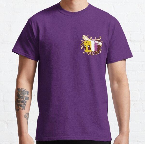 Non-Binary Pride Minecraft Bee Classic T-Shirt