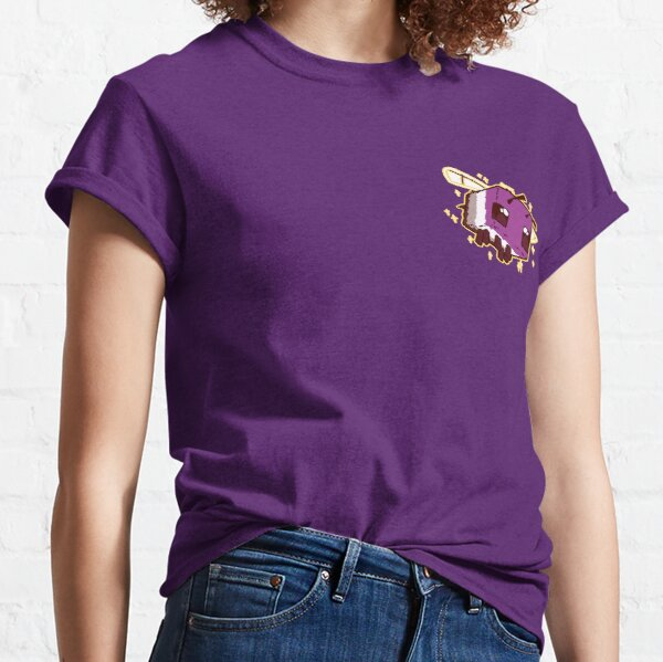Asexual Pride Minecraft Bee Classic T-Shirt