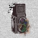 Photography Vintage Retro Rolleiflex by Denis Marsili