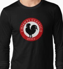 Black Rooster Italy Chianti Classico  Long Sleeve T-Shirt