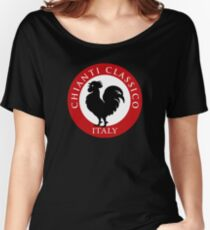 Black Rooster Italy Chianti Classico  Women's Relaxed Fit T-Shirt