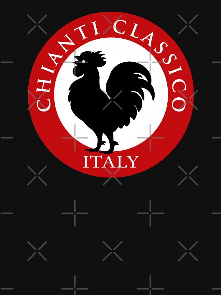 Black Rooster Italy Chianti Classico  | Unisex T-Shirt