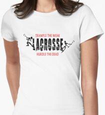 """Lacrosse """"Trample The Weak Hurdle The Dead"""" T-Shirt"""