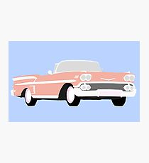 Chevy Bel Air  Photographic Print