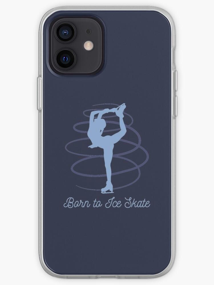 Patinage artistique, patinage sur glace   Coque iPhone