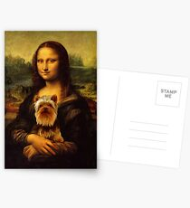 Yorkie Lisa Postcards
