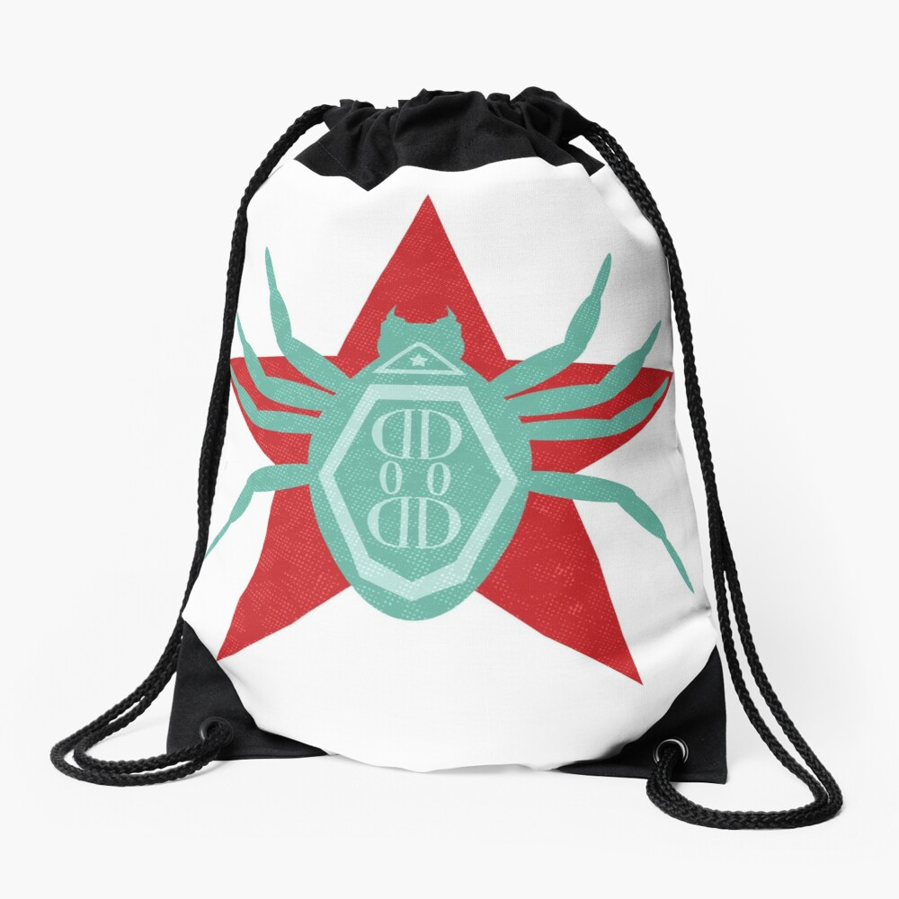 All Hale the Defender of Democracy Drawstring Bag