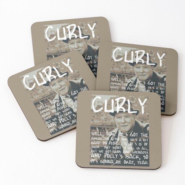 Peaky Curly Coasters (Set of 4)