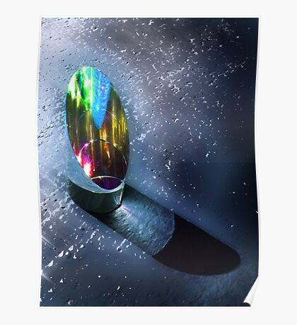 Prism under water Poster