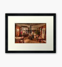 The Children Have Left For Christmas Vacation Framed Print