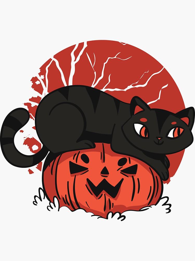 Black Cat Halloween by angelandspot
