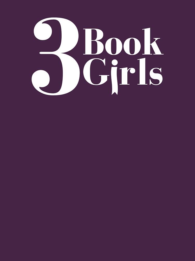 3 Book Girls White Logo by 3BookGirls