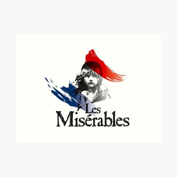 Les Miserables logo girl Art Print