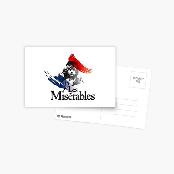 Les Miserables logo girl Postal