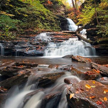 Huron Falls Is Rejuvinated In October by ProfAudio