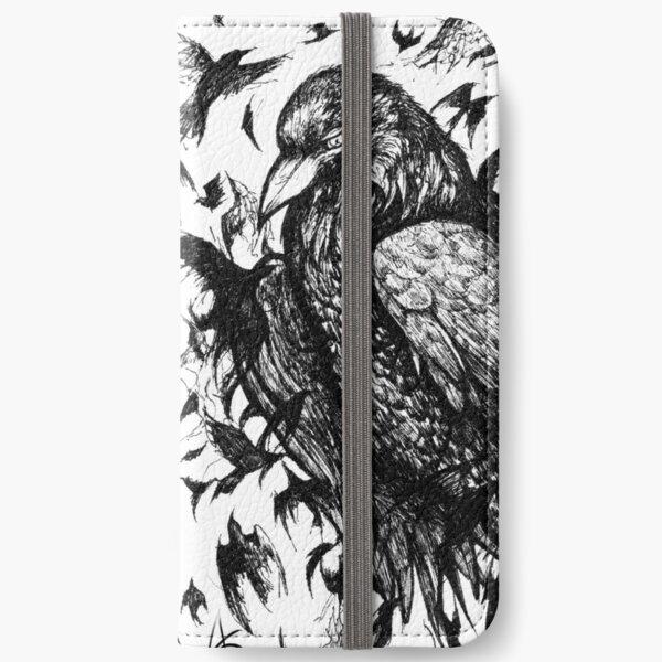 Crow Circle iPhone Wallet