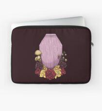 Powder Pink Coffin Laptop Sleeve