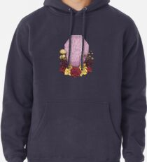 Powder Pink Coffin Pullover Hoodie