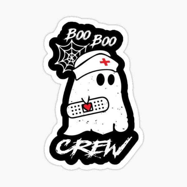 Boo Boo Crew Sticker