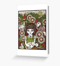 All In A Dream   Greeting Card