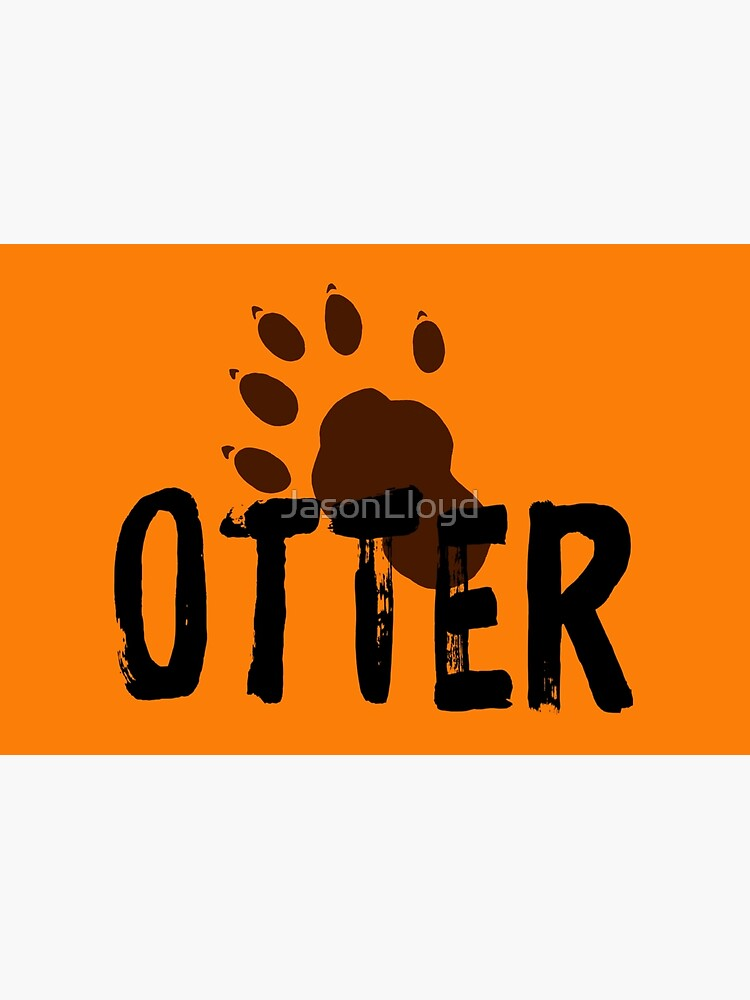 Otter (Paw Print) by JasonLloyd
