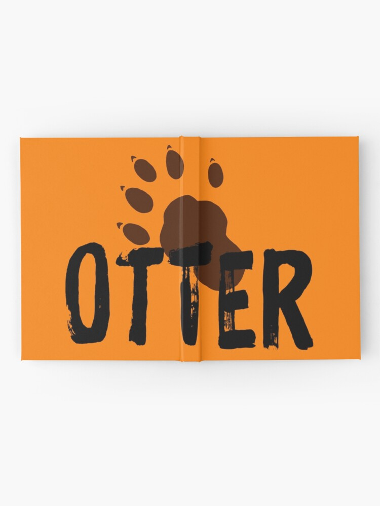 Alternate view of Otter (Paw Print) Hardcover Journal