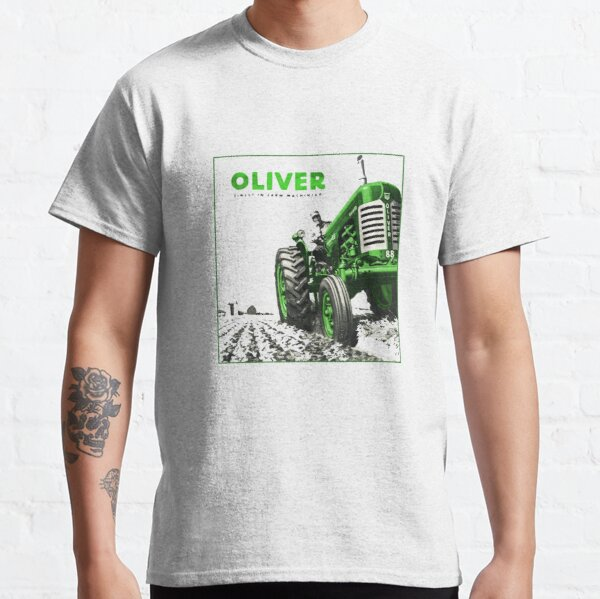 Vintage Oliver Tractor graphic Classic T-Shirt
