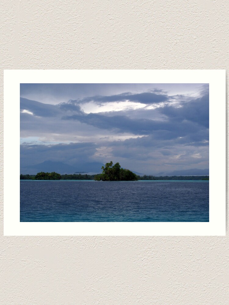 Alternate view of Paradise at Vona Vona Lagoon Art Print