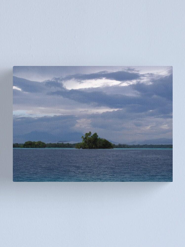 Alternate view of Paradise at Vona Vona Lagoon Canvas Print