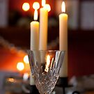 crystal and candles by Dean Messenger