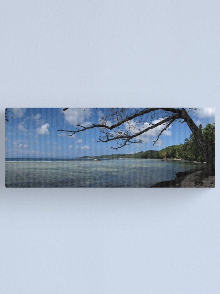 Alternate view of The View at Titiana Point. Canvas Print