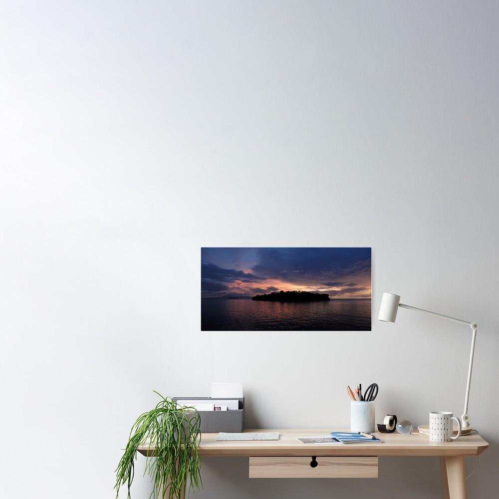 Vona Vona Sunset I Poster
